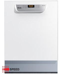 Miele vaatwasser PG 8055 U wit onderbouw met rekkenset