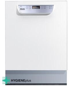 Miele vaatwasser PG 8057 TD U wit onderbouw met rekkenset