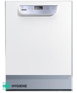 Miele vaatwasser PG 8059 U HYGIENE wit onderbouw met rekkenset