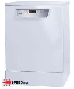 Miele vaatwasser PG 8056 VS wit vrijstaand met rekkenset